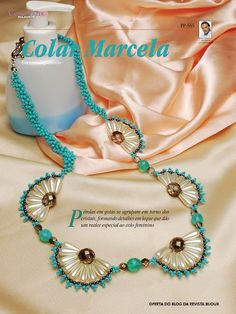 BIJOUX MAGAZINE: How-to: Marcela Necklace