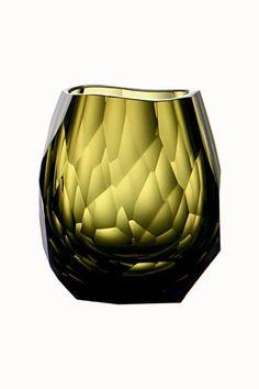 Glacier Vodka Glass Olive