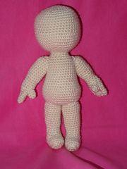 Ravelry: NIN basic doll pattern by Giulia Zeta-free pattern