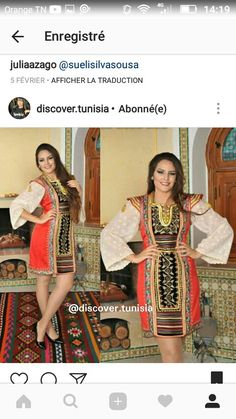 Keswa tunisienne tenue traditionnelle mariée Vêtements Bouches-du-Rhône -  leboncoin.fr | karakou | Pinterest | Oriental fashion, Fashion jewellery  and Robe