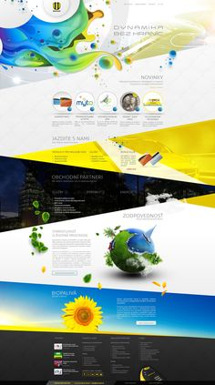 WEB CREATIVE CONCEPT on Behance