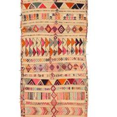 Pink & Orange - Vintage Moroccan Carpet - Madeline Weinrib