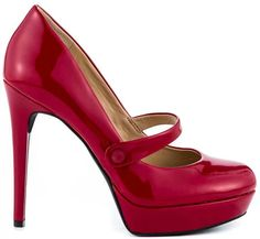 I love red shoes