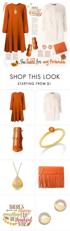 """I'm Thankful For My Friends"" by ellie366 ❤ liked on Polyvore featuring Tiffany & Co., Odeeh, Zadig & Voltaire, Valentino, Gurhan, Anne Sisteron, Boutique Moschino, Cricut, Bloomingdale's and Victoria Beckham"