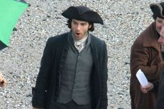 PICTURES: New Poldark pictures from night shoot in Cornwall ~ Aidan: Ohhhhh!