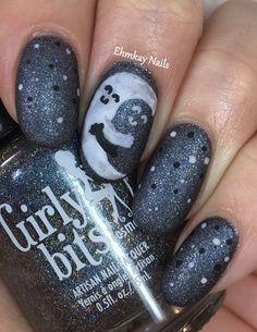 ehmkay nails: Moon Hugging the Sky Valentine's Day Nail Art