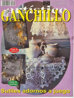 Crochet Books, Crochet Doilies, Knit Crochet, Crochet Magazine, Crochet Patterns, Crochet Ideas, Elsa, Crochet Earrings, Knitting