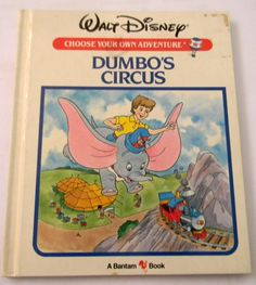 Dumbo's Circus by Jim Razzi Vintage by JanellesVintageShop on Etsy, $3.50
