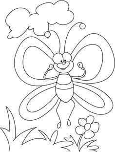 Butterfly in spirit high coloring pages Insect Coloring Pages, Angel Coloring Pages, Summer Coloring Pages, Coloring Sheets For Kids, Coloring Books, Mouse Color, Drawing Sheet, Disney Colors, Kindergarten Crafts
