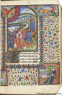 Book of Hours, M.287 fol. 87r - Images from Medieval and Renaissance Manuscripts - The Morgan Library & Museum