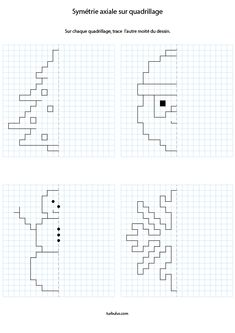 Graph Paper Drawings, Graph Paper Art, Coding For Kids, Math For Kids, Animal Crafts For Kids, Easy Crafts For Kids, Math Worksheets, Preschool Activities, Visual Perception Activities
