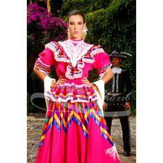 Traje tipico de Jalisco, Mexico.