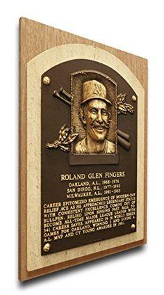 Rollie Fingers Oakland Athletics Plaque