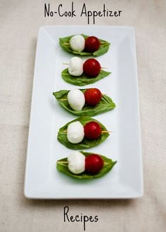 Easy Peasy appetizer