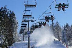 Stoki narciarskie w Wierchomli http://www.wierchomla.com.pl/stacja-narciarska-zima