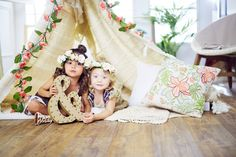 Adorable #bestie fashionistas, Everleigh and Ava, hail from Southern California and love #styles with #boho vibes #zulilyfinds