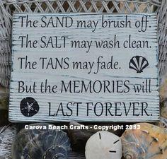 Salt May Brush Off, Tans May Fade - Beach Decor - Beach Signs - Beach Wall Decor -  Coastal Decor - Painted, Wood - Beach House on Etsy, $38.00