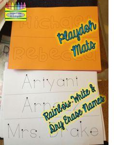 Crayons & Cuties In Kindergarten: It's All In A Name! Using Children's Names In The Beginning of Kindergarten!