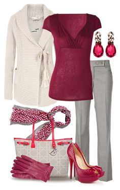 I like the style of this outfit; it work would start to upgrade my wardrobe, but not so much that I would no longer fit in with our casual work attire. Komplette Outfits, Classy Outfits, Fall Outfits, Casual Outfits, Fashion Outfits, Womens Fashion, Fashion Trends, Work Fashion, Fashion Looks
