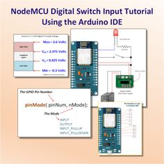 Digital Input from a ESP8266 NodeMCU Development Board There will be many occasions in your projects where you want measure a high or low input. This high or low input may source from a switch or …