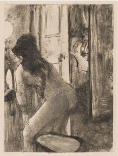 Edgar Degas, The Bidet on ArtStack #edgar-degas #art