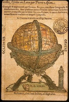 Petrus Apianus, Cosmographie (1581)  Petrus Apianus (16 April 1495 – 21 April 1552), also known as Peter Apian, was a German humanist, known for his works in mathematics, astronomy and cartography.