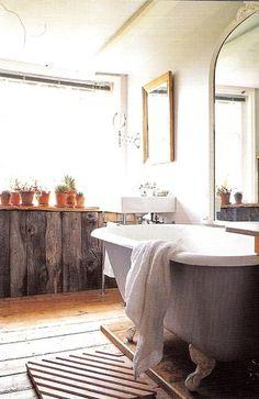 Wabi sabi bath