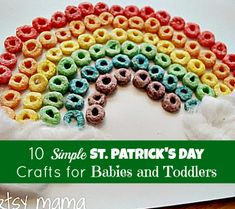 St. Patrick's Day Crafts for Babies and Toddlers