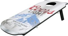 Coors Light Can Cornhole Bean Bag Toss Game Outdoor indoor Cornhole Game Set New #Coors #CoorsLight #BeanBag #Game #Outdoor