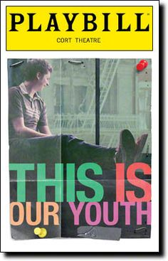 Kenneth Lonergan's This Is Our Youth, starring Michael Cera, Kieran Culkin, and Tavi Gevinson, opens today at the Cort Theatre.