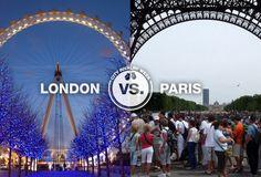 London vs. Paris-10 reasons London reigns supreme over Paris