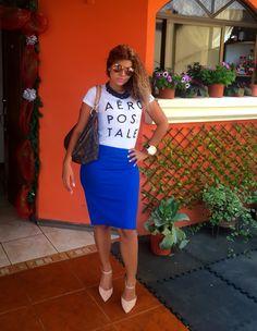 Zapatos: Zara Falda: diva  T shirt