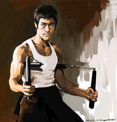 Bruce Lee theWay of the Dragon by darkdamage.deviantart.com on @deviantART
