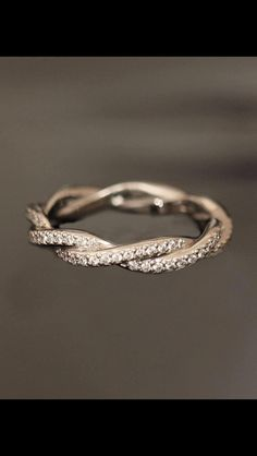 Cute promise ring kinda like the one I have now but this one sparkles ;)