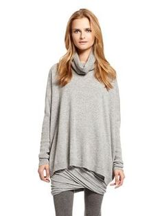 Modern Luxe Wool Easy Long Sleeve Turtleneck Pullover at ShopStyle