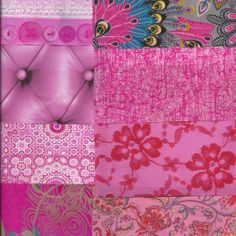 Paper Packs, Decoupage, Indie, Packing, Pink, Blue, Art, Bag Packaging, Art Background