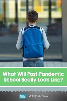 Students and teachers look forward to returning to a post-pandemic school, but will it look the same as it did earlier this year? Learning Styles, Learning Resources, Education Policy, School Leadership, Classroom Jobs, School Closures, Changing Jobs, Blended Learning, Social Emotional Learning