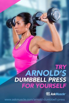 Looking to build a massive pair of shoulders? Take a page out of Arnold Schwarzenegger's training book and try the Arnold dumbbell press out yourself. Rower Workout, Stepper Workout, Muscle Up, Gain Muscle, Chest Workouts, Fun Workouts, Arnold Schwarzenegger Bodybuilding, Ectomorph Workout, Best Shoulder Workout