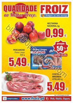 Novo Folheto FROIZ Promoções de 1 a 19 agosto - http://parapoupar.com/novo-folheto-froiz-promocoes-de-1-a-19-agosto/