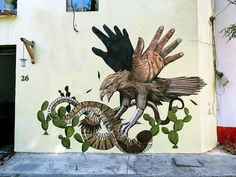 Alexis Diaz and JAZ Collaborate on Mexico Mural