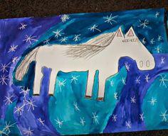 Tvoříme s dětmi  ☺: Bílý kůň- svátek Sv. Martina Martini, Moose Art, Winter, Christmas, Animals, Advent, School, Historia, Animais