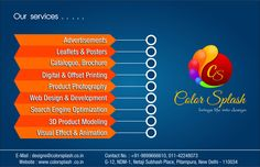 Premium quality advertising services for better exposure of your business #GraphicDesigns #Advertising
