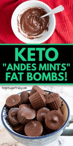 Slow Cooker Desserts, Low Carb Desserts, Keto Bombs, Easy Fat Bombs Keto, Keto Holiday, Holiday Recipes, Keto Chocolate Chip Cookies, Keto Candy, Keto Dessert Easy