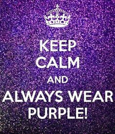For the Luv of Purple!!!