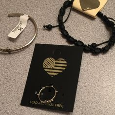 $20 worth of Brandy Melville jewelry (3 items) Both bracelets were $8 and the ring was $4 AND $7 shipping Brandy Melville Jewelry Bracelets