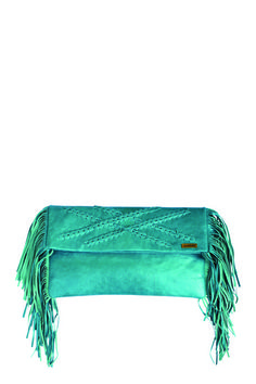 FREE LOVE CLUTCH - Turquoise