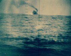 Japanese ships sunk by USS Guardfish (SS 217). Shown is a 9000 ton freighter, September 4, 1942. Official U.S. Navy Photograph, now in the collections of the National Archives.