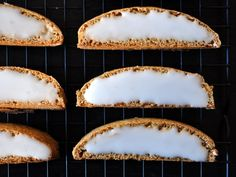 Glazed spice biscotti from Serious Eats