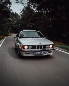 Bmw 635, Bmw 6 Series, On The Road Again, Bmw Classic, E30, Dream Garage, Vintage Cars, Dream Cars, Shark