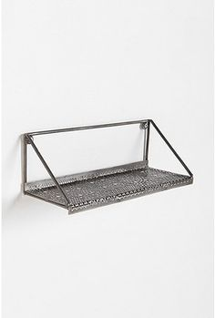 Metal Shelf - Possibly change it up by tack welding nuts together for the shelf? Urban Furniture, Furniture Sale, Kids Furniture, Luxury Furniture, Furniture Decor, Furniture Websites, Metal Shelves, Wall Shelves, Shelf